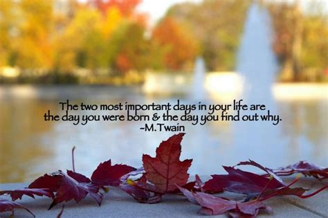 Mark Twain Quotes The two Most Important Days - We Need Fun