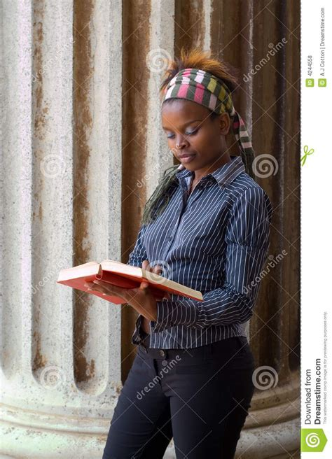 African American College Stude Royalty Free Stock Photos