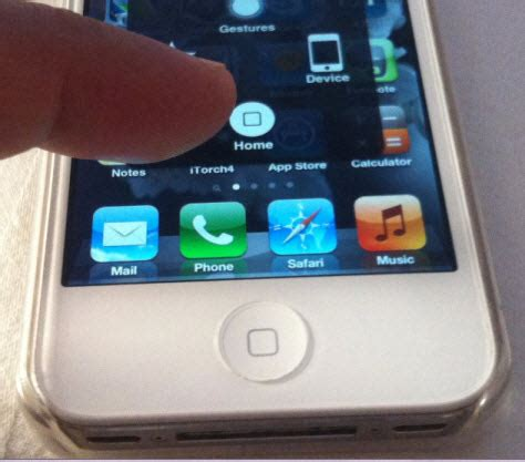 """The Assistive Touch """"Soft"""" On-Screen Home Button for"""