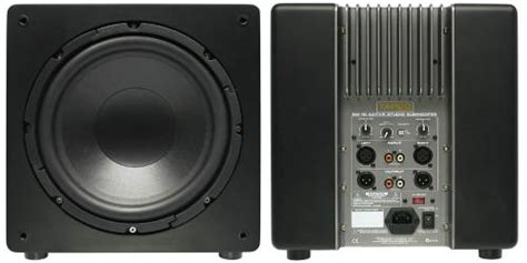 Tapco SW 10 Active Subwoofer - Engineered by Mackie
