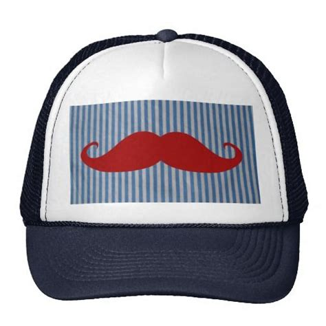 >>>Coupon Code Funny Red Mustache And Blue White Stripes