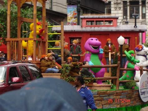 Macy's Thanksgiving Day Parade - Barney Wiki