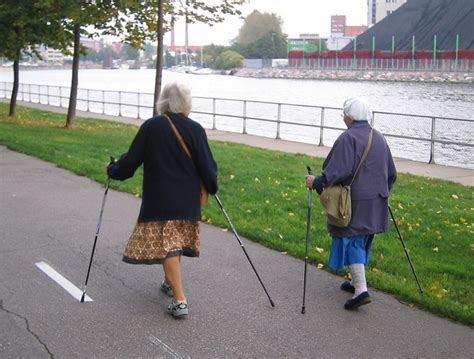 Nordic Walking grannies | They are all over the place! It