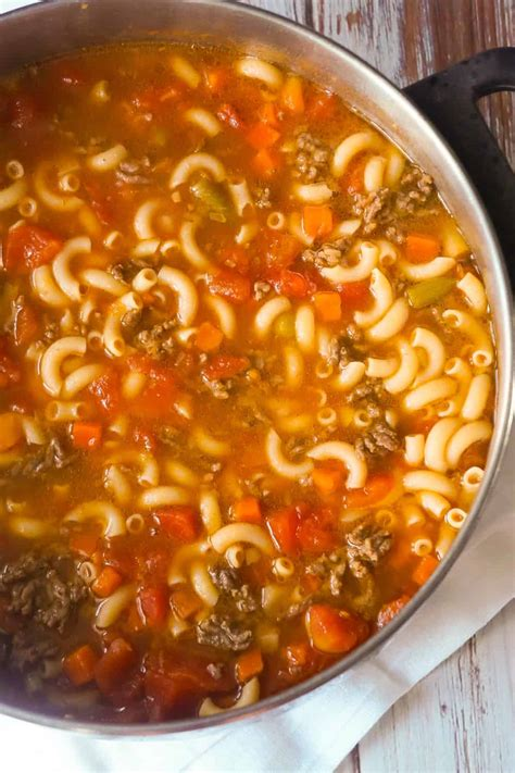 Hamburger Soup Recipe Is Hearty And Delicious - Simplemost