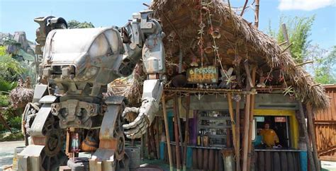 Tour the rides, restaurants and shops of Pandora - The