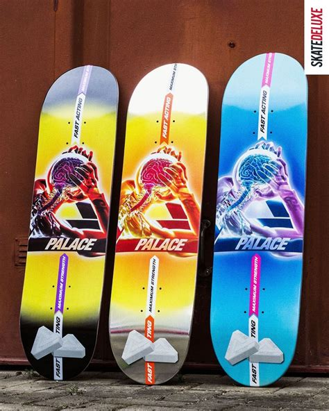New from Palace Skateboards in 2020 | Skateboard deck