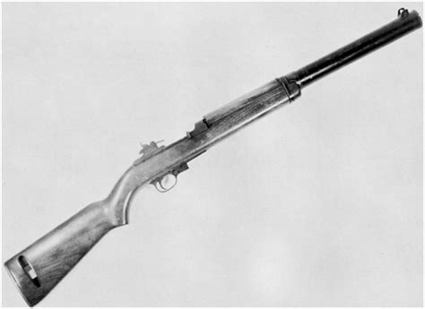 Historical Firearms - Prototype Suppressed M1 Carbine Much