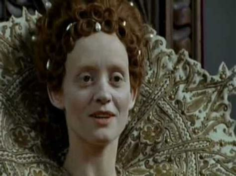 Sienna Guillory as Lettice Knollys in BBC TV show The