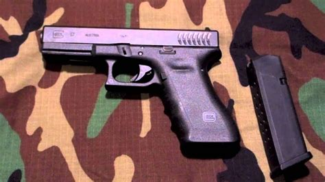 Glock 17 RTF2 Full Size 9mm Pistol Overview and Shots