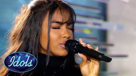 Alicia-Awa Beissert sings Stay (Rihanna cover) on Idol