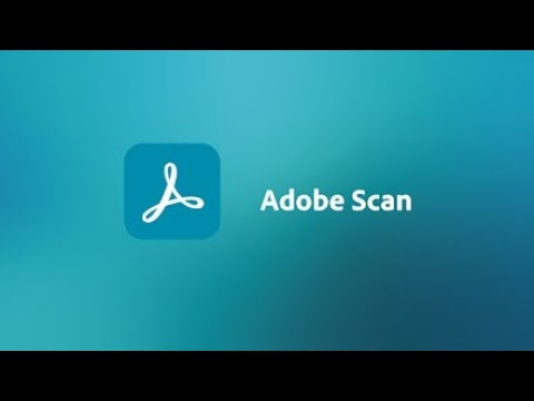 Adobe Scan with Optical Character Recognition, Text