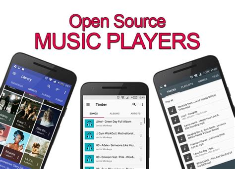 Open Source Android Music Player Apps With Download Links