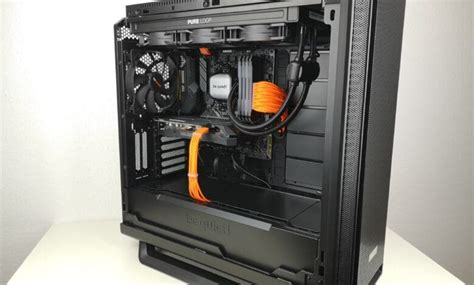 be quiet! silent base 802 - silent or airflow operation