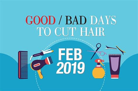 Good & Bad Days to Cut Hair for February 2019 - WOFS