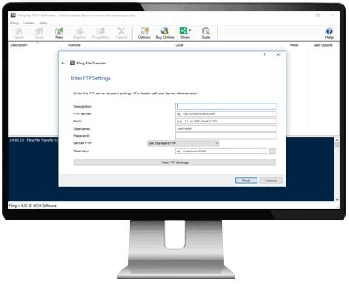 Fling Free FTP Automatic Sync and Upload Software