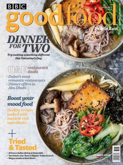 BBC Good Food Middle East - February 2019 PDF download free