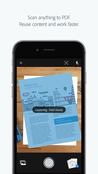 Adobe Releases Free 'Adobe Scan' OCR App for iOS [Download