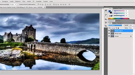 Adobe Photoshop CS5 Tutorial - HDR effect from one photo