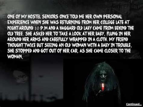 True Scary Story - The Damp And Cold Night