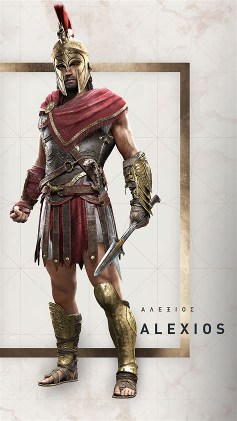 Alexios Assassin's Creed Odyssey Wallpapers   HD