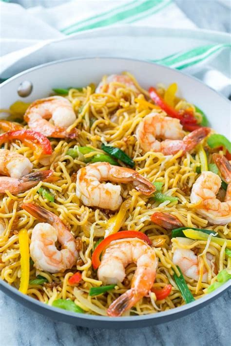 Shrimp Chow Mein (One Pot Meal) - Dinner at the Zoo