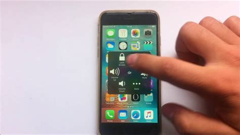 How to activate home button on screen on iPhone - YouTube