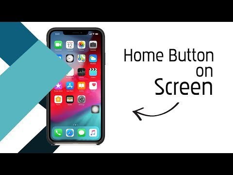 How to add an on-screen home button to your iPhone X