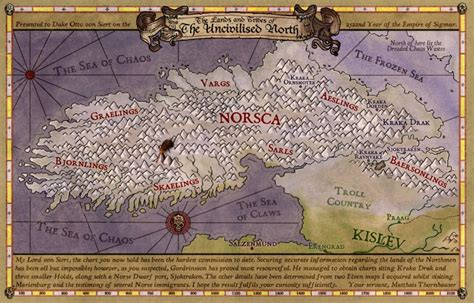 Norsca - Warhammer - The Old World - Lexicanum