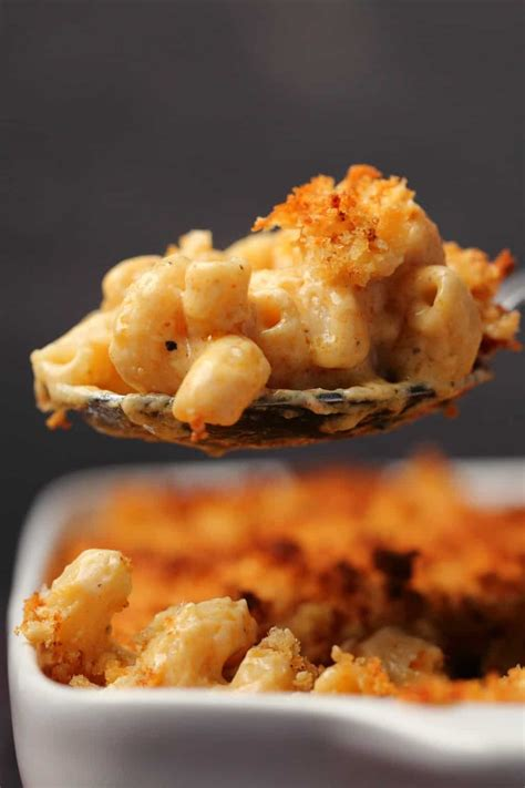 Classic Baked Vegan Mac And Cheese - Half Planet Preserve