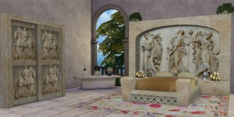 The Roman Collection by The Shed at Sims 4 Studio » Sims 4