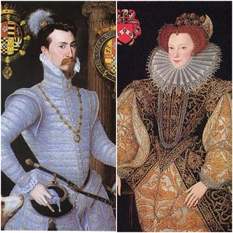 The marriage of Robert Dudley and Lettice Devereux - The