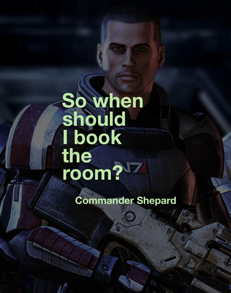 game character quote • commander shepard // mass effect