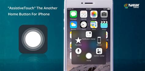 """""""AssistiveTouch"""" The Another Home Button For iPhone"""