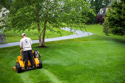A Look at Lawn Mowing Jobs in Alexandria, VA: Going From