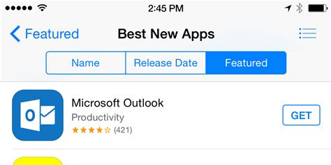 Microsoft's New Outlook App For iOS Is A Huge Hit, Already